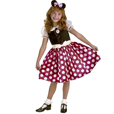 Disney Minnie Mouse Toddler / Child Costume