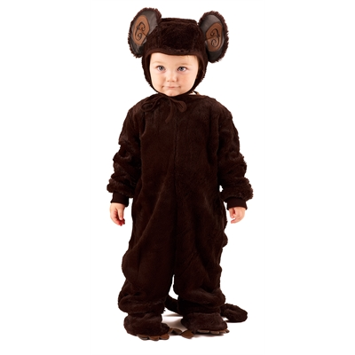 Plush Monkey Toddler / Child Costume
