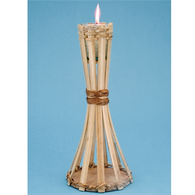 Natural Bamboo Mini Table Torch