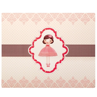 Ballerina Activity Placemats (4)