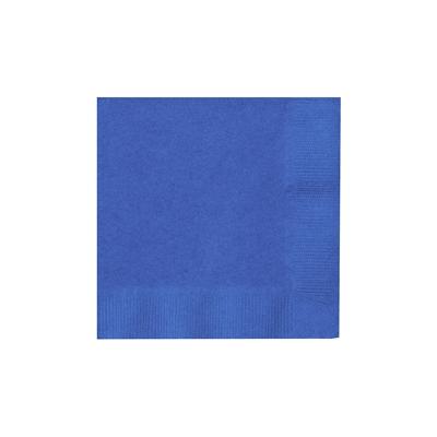 Blue Beverage Napkins (50)