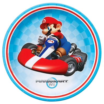 Mario Kart Wii Dinner Plates (8)