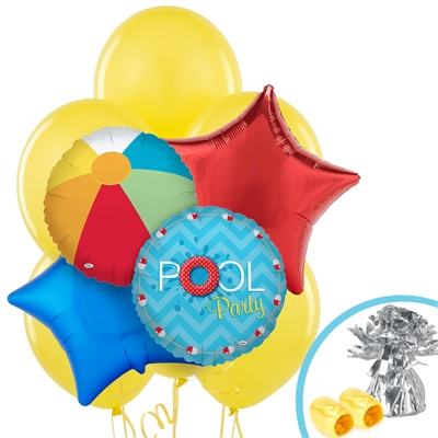 Pool Party Balloon Bouquet