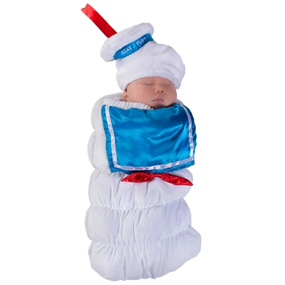 Ghostbusters Stay Puft Swaddle