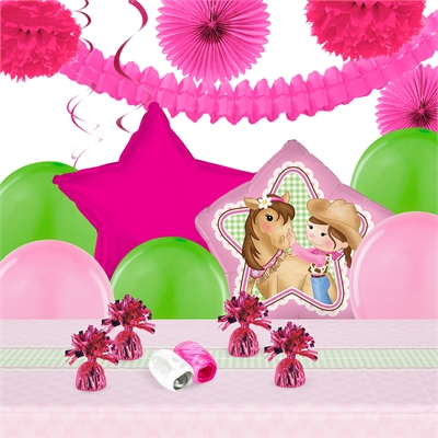 Pink Cowgirl Deco Kit