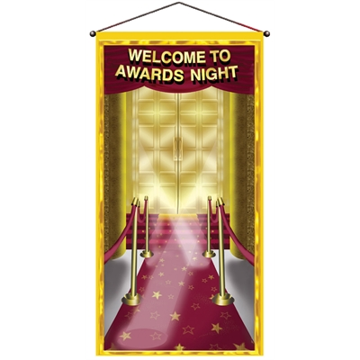 Awards Night Door Panel Decoration