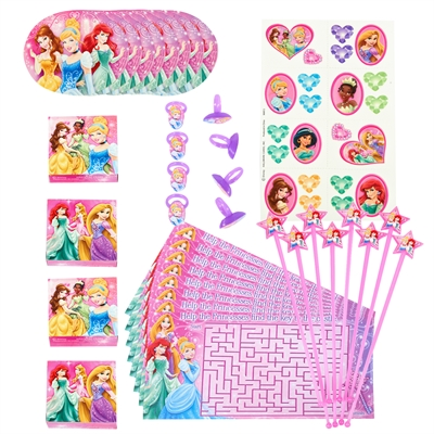 Disney Princess Party - Party Favor Value Pack