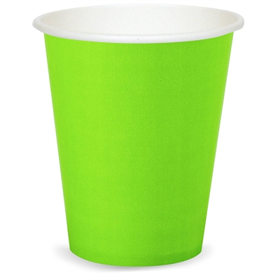 Lime Green Paper Cups (24)