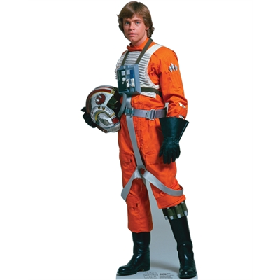 Star Wars Luke Skywalker Rebel Pilot Standup - 5' Tall
