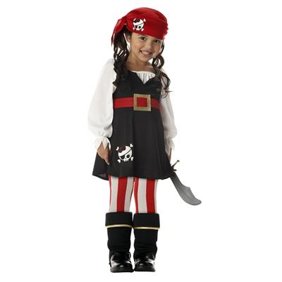Precious Lil' Pirate Toddler / Child Costume