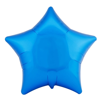 Blue Star 18'' Foil Balloon