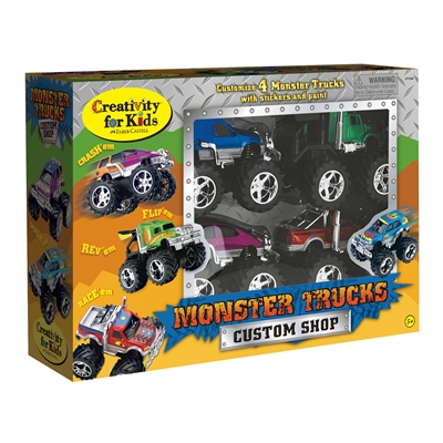 Creativity for Kids Monster Truck Custom Shop Activity