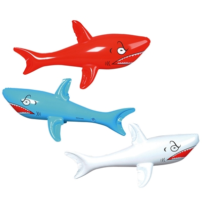 Inflatable Shark Assorted