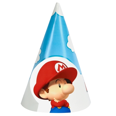 Super Mario Bros. Babies Cone Hats (8)