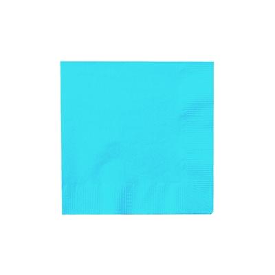 Turquoise Beverage Napkins (50)