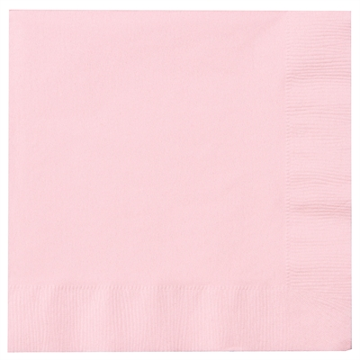 Light Pink Lunch Napkins (50)