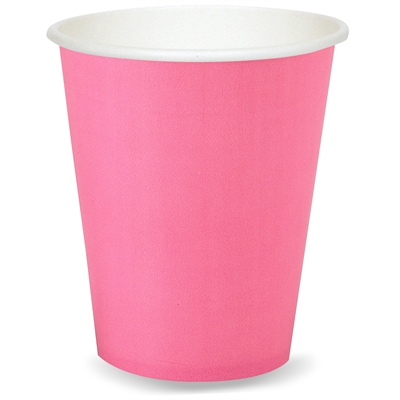 Pink 9 oz. Cups (24)