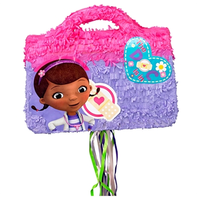 Disney Junior Doc McStuffins Doctor Bag 3D Pull-String Pinata