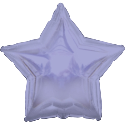 Lavender Star Foil Balloon