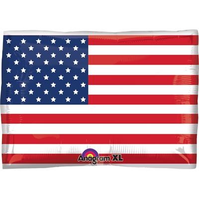 American Flag Foil Balloon