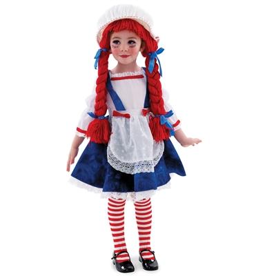 Yarn Babies Rag Doll Girl Toddler / Child Costume