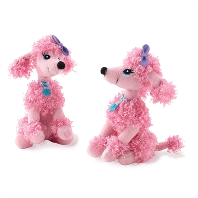 Pink Poodle Mini Plush