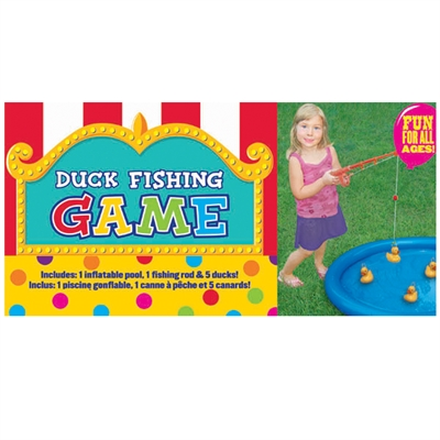 Duck Fishing Game with Inflatable Pool