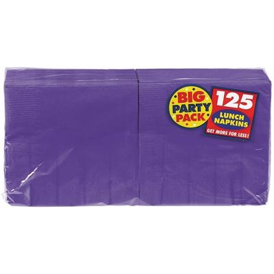 Purple Lunch Napkins (125)