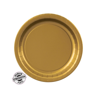 Gold Dessert Plates (24)