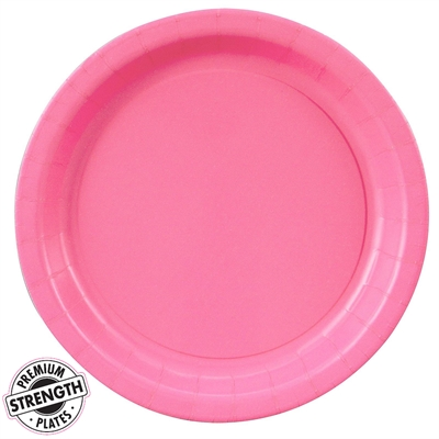 Pink Dinner Plates (24)