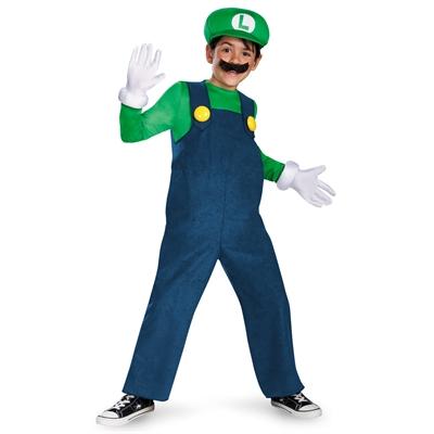 Super Mario Bros. - Luigi Deluxe Toddler or Child Costume