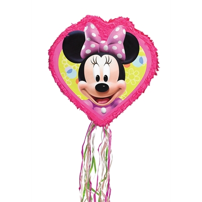 Disney Minnie Mouse 18'' Pull String Pinata