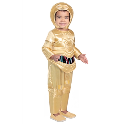 Star Wars Premium C-3PO Toddler Costume