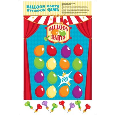Balloon Darts Stick-On Game