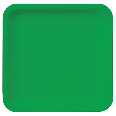 Green Square Dinner Plates (18)