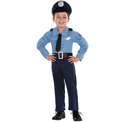 Police Officer Toddler Costume