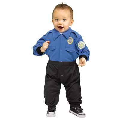 Policeman Toddler Costume
