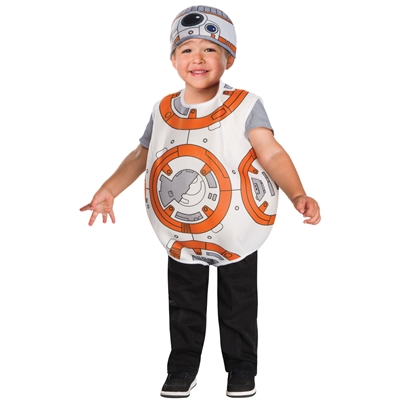 Star Wars: The Force Awakens - BB-8 Toddler Costume 2T-4T