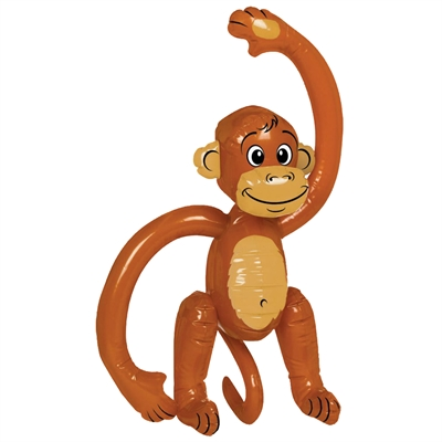 Small Inflatable Monkey
