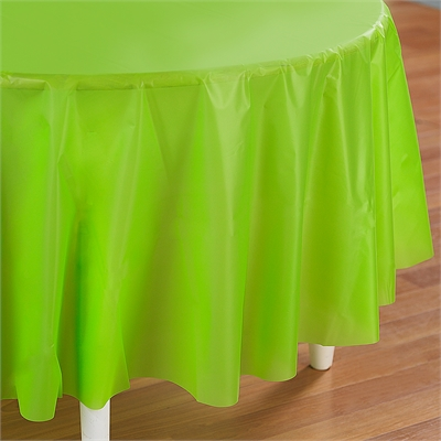 Lime Green Round Tablecover