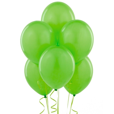 Lime Green Balloons (6)