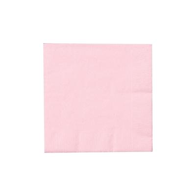 Light Pink Beverage Napkins (50)
