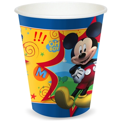 Disney Mickey Mouse 9 oz. Paper Cups (8)