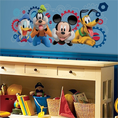 Disney Mickey Mouse Clubhouse Giant Wall Decal