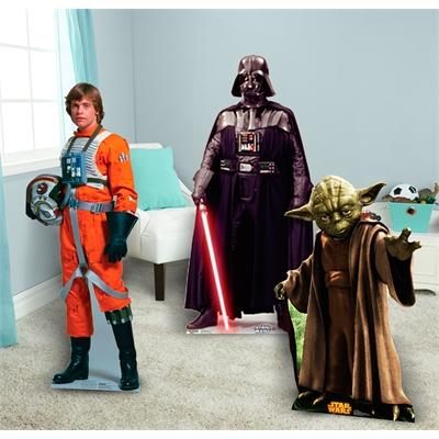 Star Wars Luke, Vadar and Yoda Standup Combo Kit