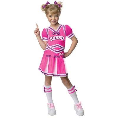 Barbie - Cheerleader Toddler/Child Costume