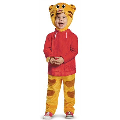 Daniel Tiger Deluxe Toddler Costume