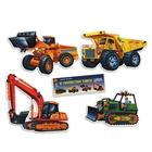 Construction Vehicle Cutouts (4)