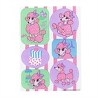 Pink Poodle in Paris Sticker Sheets (4)