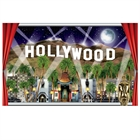 Hollywood Window Scene Decoration